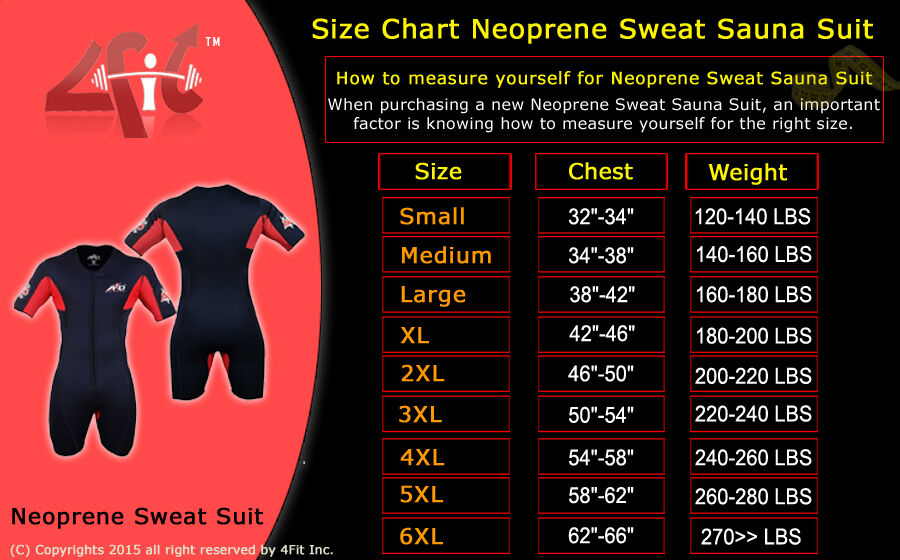 4Fit™ Neoprene Loss Sweat Sauna Suit Weight Loss Neoprene Slim Shorts MMA Gym Boxing MMA 89c029