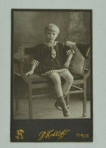 IMPERIAL RUSSIA, ORIGINAL ca 1910 CDV PHOTO PORTRAIT OF A BEAUTIFUL YOUNG GIRL