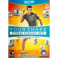 Nintendo Wii Your Shape: Fitness Evolved 2013 - Wii U Game For Wii Balance Board