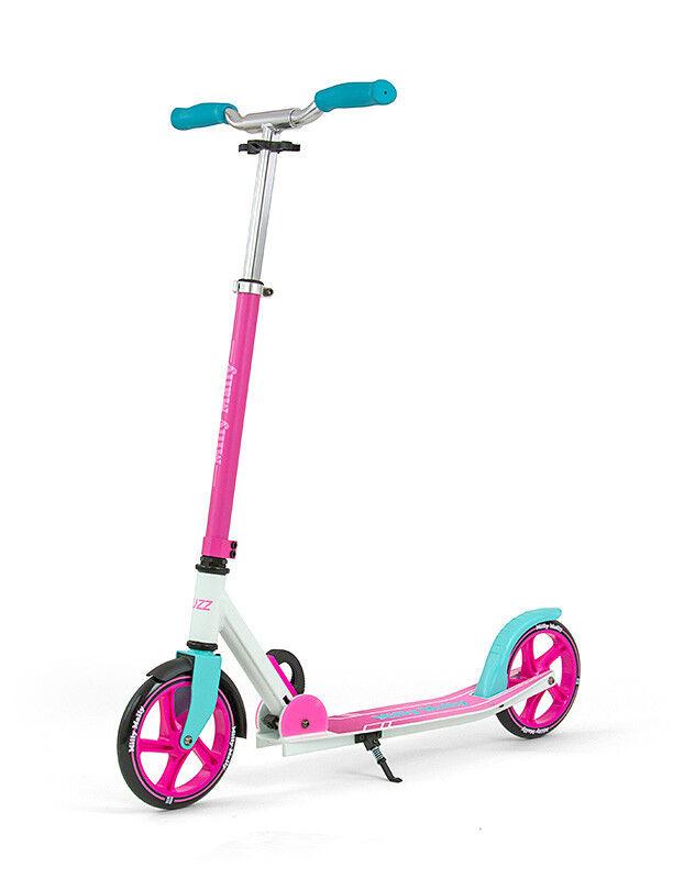 Milly Mally Scooter Buzz Rosa Roller Kinderroller Kinderscooter Fahrzeug Kinder