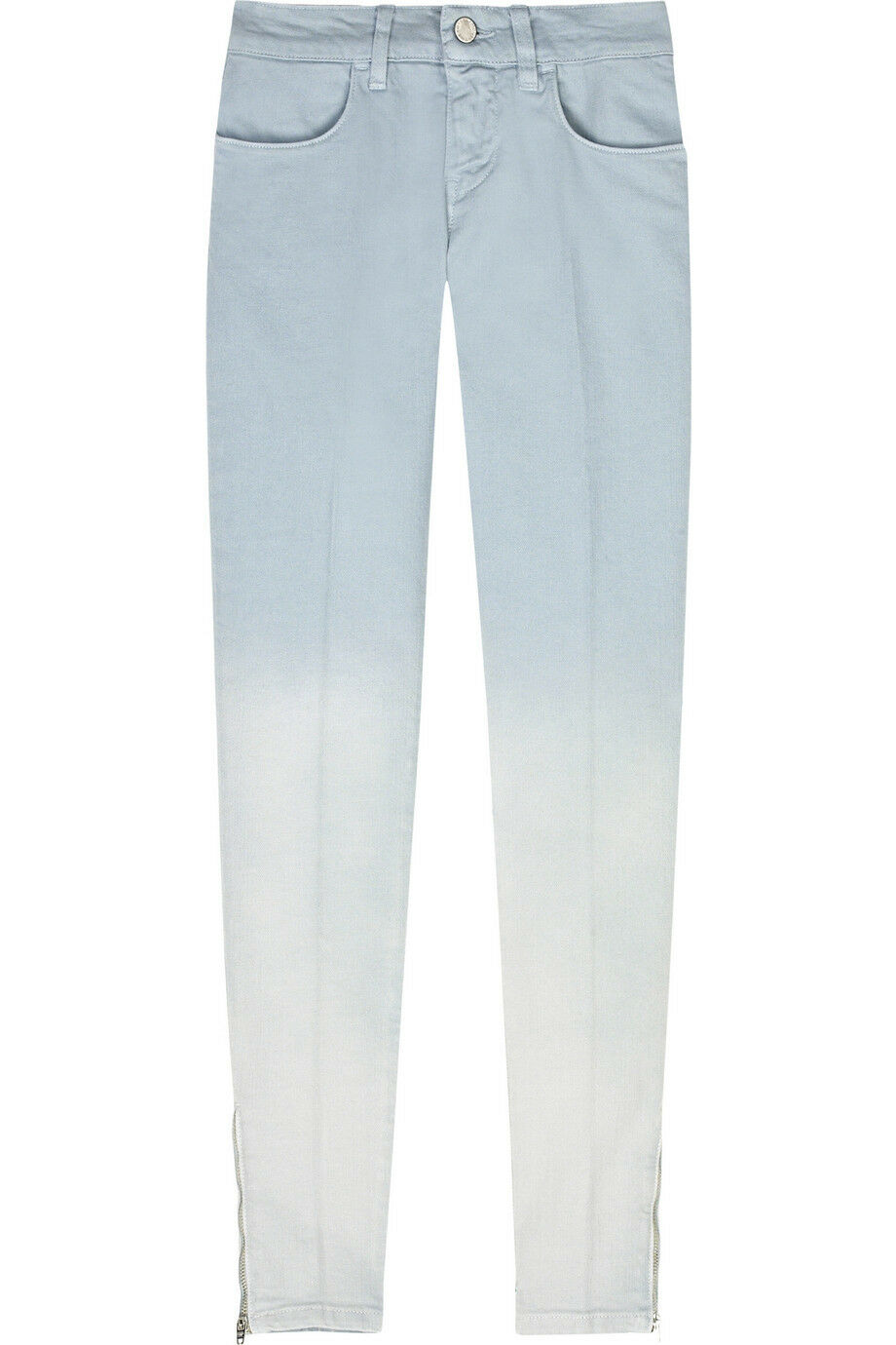 Stella mccartney skinny ombre dip-dye degrade denim jeans 27