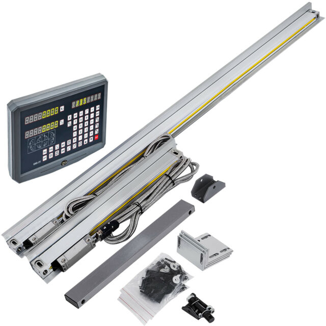2 Axis 250mm-1000mm Digital Readout Display Precision Drilling 200 SDM Clearing