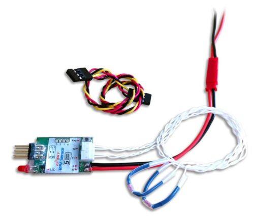 2202.165 FrSky Smart Port RPM Sensor mit 2 Temperatur Sensoren