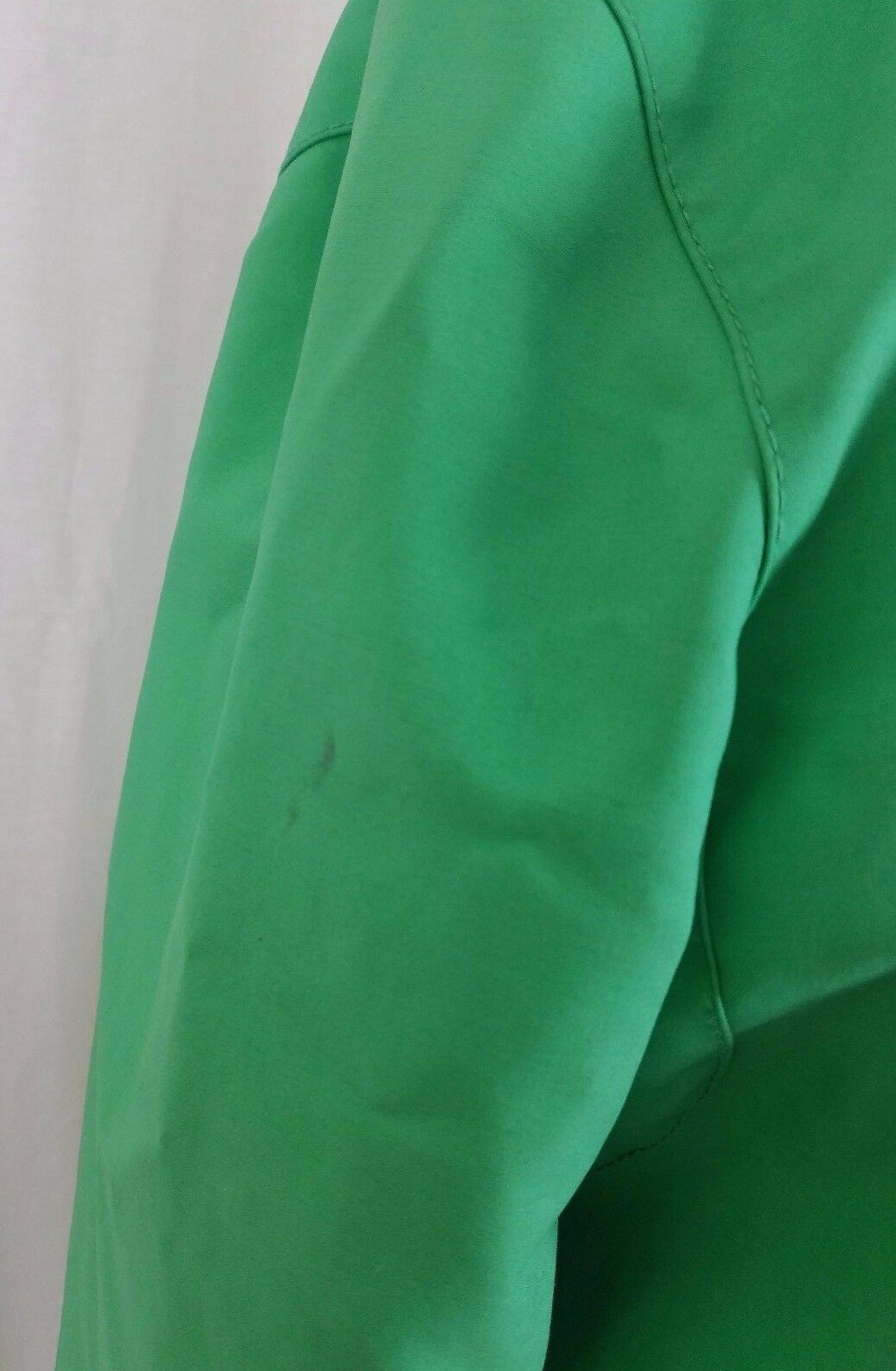 LL LL LL Bean Hooded Spring Green All Weather Trench Coat Womens M d4a8f1