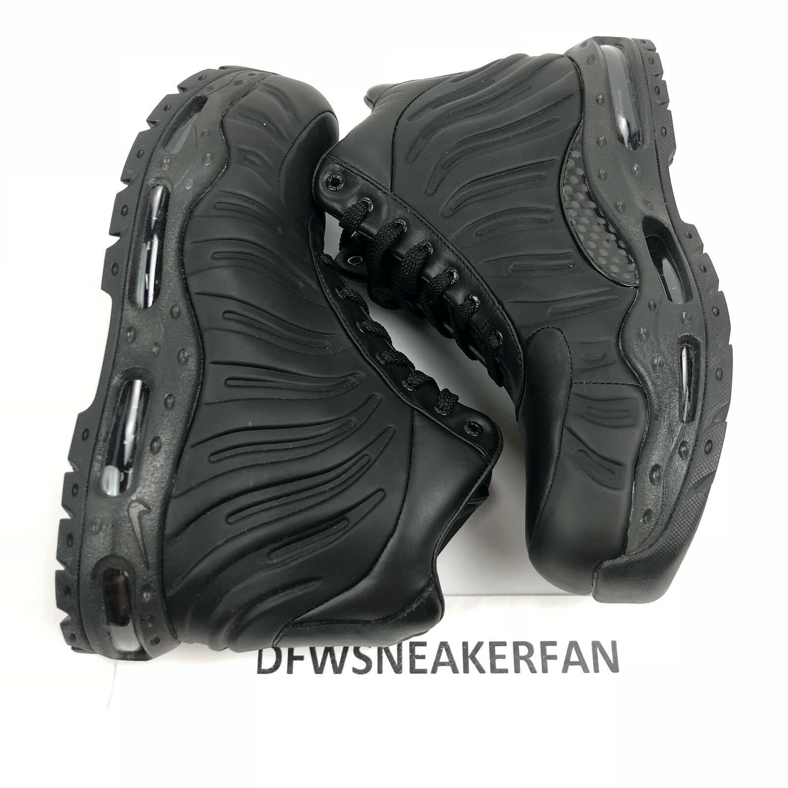 NEW NIKE AIR MAX FOAMDOME ACG FOAMPOSITE BOOTS BLACK 843749-002 MEN'S SIZE 9
