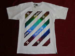 NWT Mens HURLEY New Type Graphic 100/% Cotton T-Shirt Regular Fit Multi Sizes $24