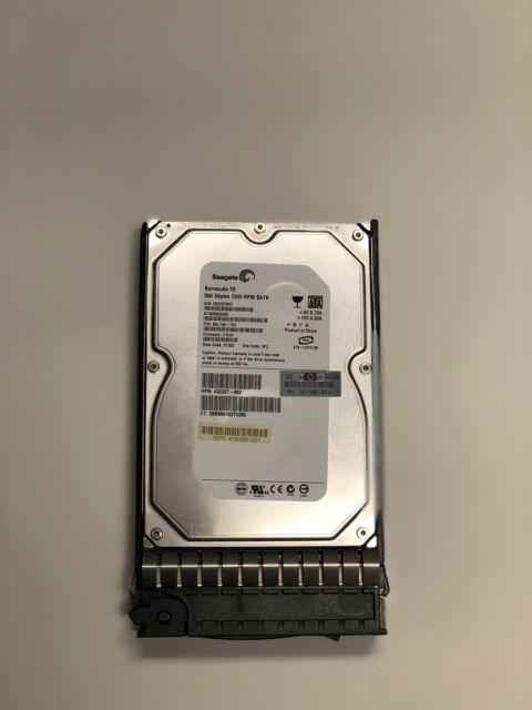 """395501-001 HP 500GB 1.5G 7.2K RPM HOT PLUG 3.5"""" SATA 395473-B21 HDD HARD DRIVE"""