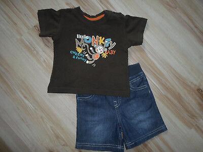 2-teiliges Set Für Baby T-shirt Shorts Gr. 62 Chinesische Aromen Besitzen