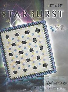 Judy Niemeyer STARBURST Foundation Paper Pieced Quilt Pattern 87 x 94