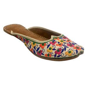 US Women's Leather Flat Sandals