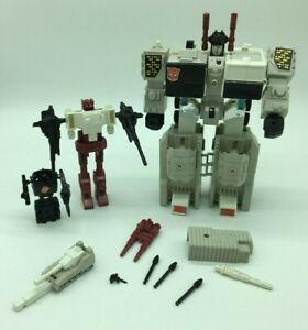 Millésime 1980 G1 Metroplex, Ville Autobot, Scamper, Autobot, Grand, Complet,