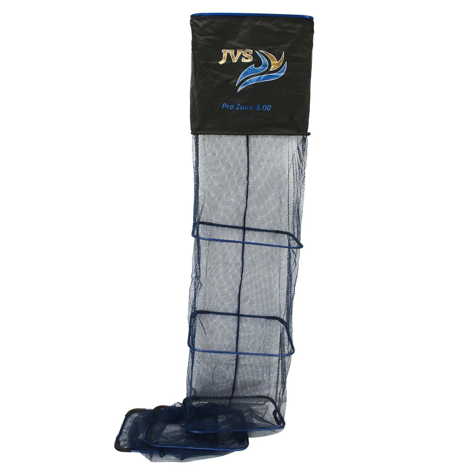 JVS setzkescher súper Deluxe pro 300cm micro-Mesh friedfisch angel recogehojas