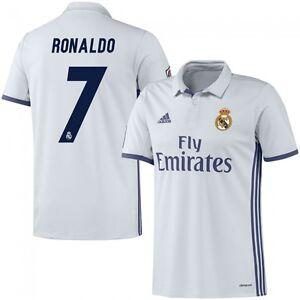 adidas Real Madrid 2016 - 2017 C. Ronaldo  7 Home Soccer Jersey CR7 ... b884865d5