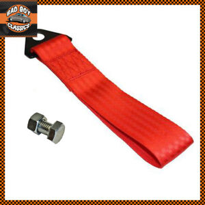 Red-Universal-Racing-Drifting-Motorsport-JDM-Car-Tow-Strap-Fixing-Bolt