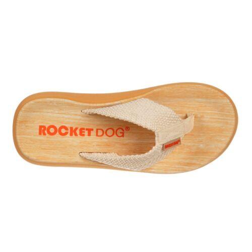 WOMENS ROCKET DOG SUNSET WEBBING FLAT FLIP FLOPS BEACH POOL SHOES SANDALS SIZE