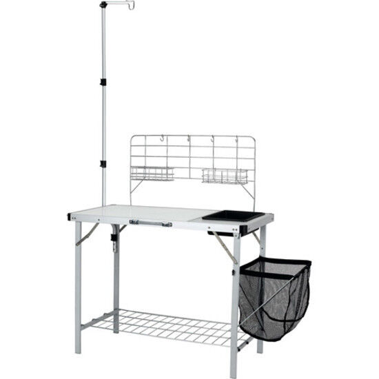 Ozark Trail Portable Camp Kitchen and  Sink Table Outdoor Folding Equipment New  best quality