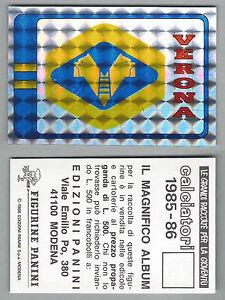 SCUDETTO CALCIATORI PANINI 1985/86 - NUOVA/NEW N.279 ...