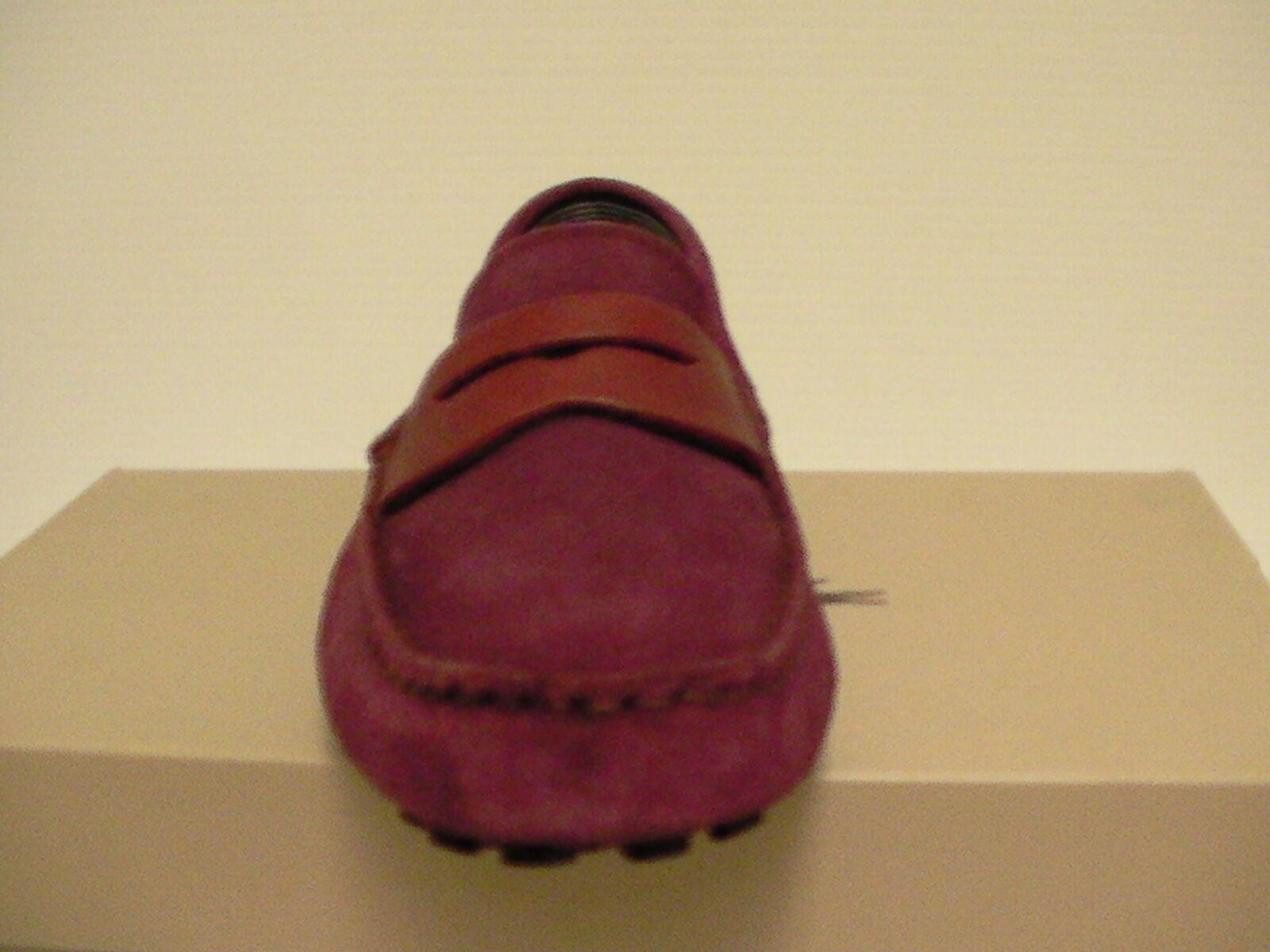 Lacoste men casual casual casual scarpe slip on dark rosso Dimensione 9 us new with box 0969d2