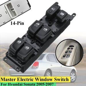 Front-Left-LH-Power-Window-Switch-93570-3K010-For-Hyundai-Sonata-2005-2006-2007