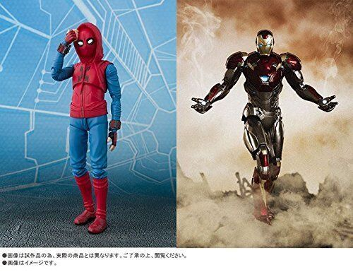 S.H.Figuarts Spider-Man Homecoming Homemade Suit ver.& Iron Man Mark 47 47 47 Set bd87c8