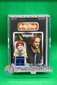 Supernatural Sam Winchester Custom cardées figurine Display Mini-Figure