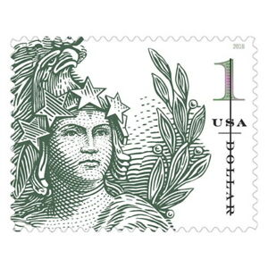USPS-New-1-Statue-of-Freedom-Pane-of-10