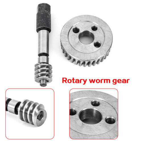 Turbine Gear The Mill Part Set Replacement Part Milling Machine Adjustable Worm