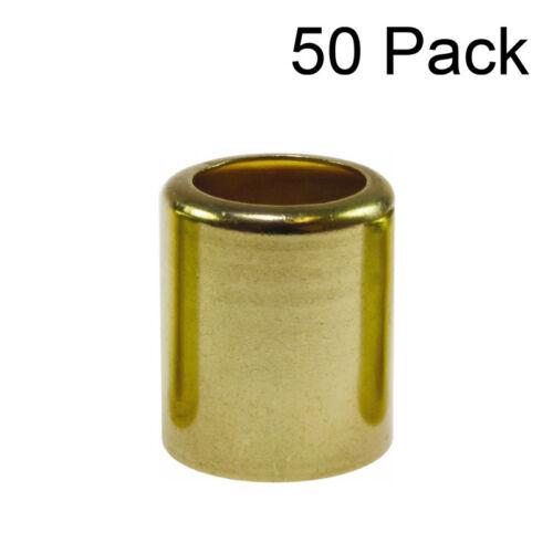 50 each 3//8 Welding Hose Brass Ferrules .687 ID # 7329