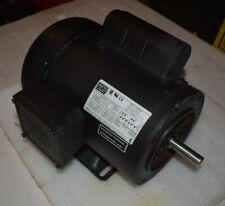 Electric Motor Weg 1 Hp 1 Ph 115 208230v Leeson Reliance Stainless Shaft