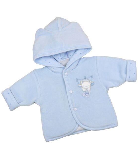 6897acadbf57 BabyPrem Preemie Micro Baby Clothes Boys Girls Unisex Padded Hooded ...