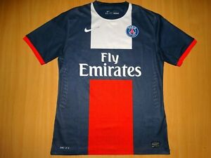 new product 495f7 b1bbc Details about PSG Paris Saint-Germain FRANCE 2013 2014 Football Shirt M  MEDIUM PLAYER ISSUE