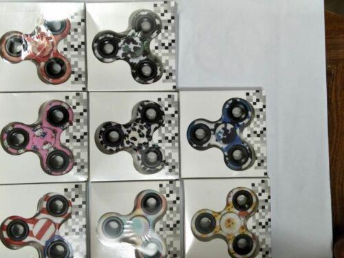 Wholesale Lot 100 designer Fidget Hand Spinner Finger Game Desk Kids Fun Toy