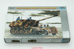 Trumpeter-00354-1-35-German-Panzerjager-39-H-w-PAK-40-Hot