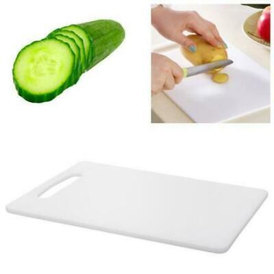 Professional Kitchen Chopping Board Plastic White Medium 23cm x 37cm