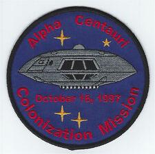 Lost In Space Jupiter 2 Colonization Mission Patch Alpha Centauri / B9 II tv