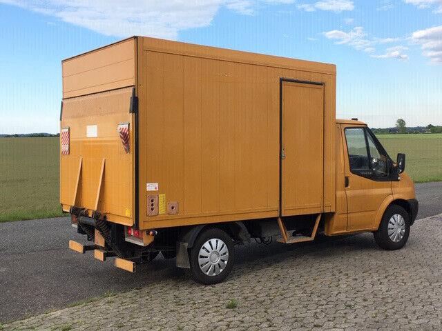 Ford Transit 350 M alu box med lift