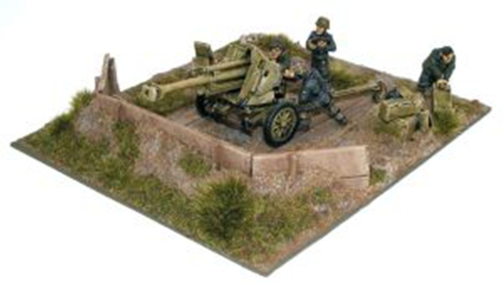NEW BOLT ACTION MINIATURES WAFFEN SS 10.5CM LEFH 18 GUN 1943-45 GAMES WGB-LSS-08