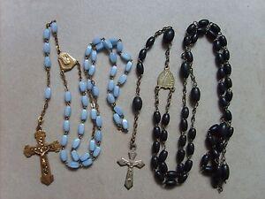 Lot-de-2-anciens-chapelets-rosaires-catholique-de-51-5-cm-et-38-cm-lot-B20