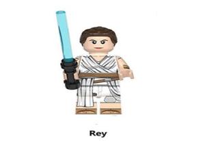 BLOC de construction REY vador Star Wars mini figurine brick BRIQUE type lego