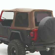 Smittybilt 9870217 In Stock Replacement Soft Top Fits 87 95 Jeep Wrangler Yj Fits 1994 Jeep Wrangler