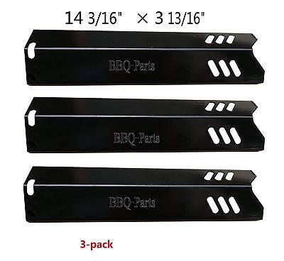 Heat Tent Porcelain Steel Heat Plate Heat Shield 4-pack Burner Cover Va...