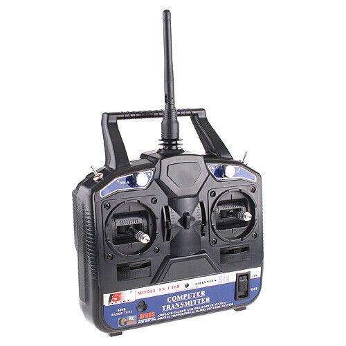Flysky FS-CT6B 2.4GHz 6 Channels Control Transmitter /& Receiver for RC Car Boat