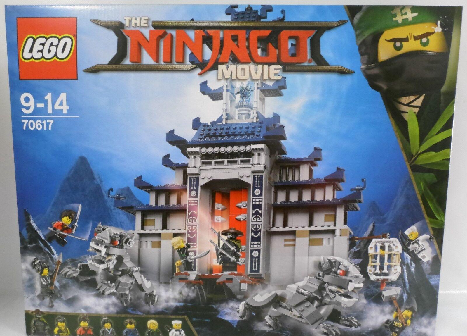 NEU LEGO® NINJAGO MOVIE 70617 Ultimatives Tempel-VersteckOVP