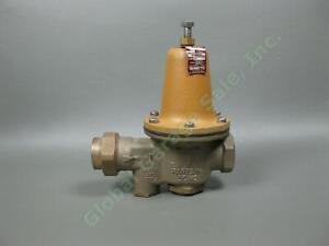 NEW-Watts-1-034-Pressure-Reducing-Brass-Valve-Sealed-Spring-Cage-Lead-Free-LFU5B-Z3