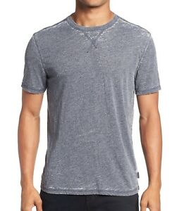 John-Varvatos-Star-USA-Men-039-s-Short-Sleeve-Jasper-Burnout-Crew-T-Shirt-Night-Sky