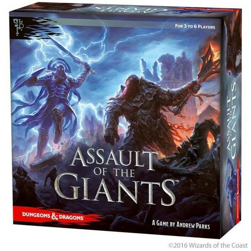 Dungeons & Dragons  Assault of the Giants - nuovo- Wizbambini  contatore genuino