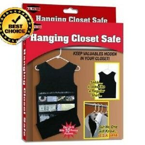 Image Is Loading Hidden Closet Safe Secret Hanging Vault Home Security