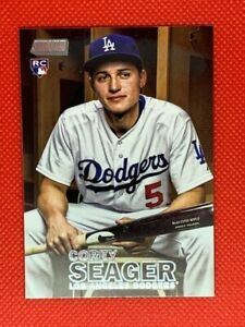 Corey Seager 2016 Stadium Club Rookie Card #142 LA Dodgers | World Series MVP