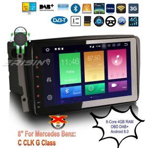 Android-8-0-Mercedes-Autoradio-W203-W209-W639-C-CLK-G-Class-TNT-DAB-TPMS-8-034-7489F