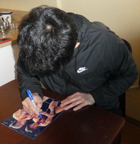 Minoru Suzuki /& Katsuyori Shibata Signed 8x10 Photo BAS New Japan Pro Wrestling